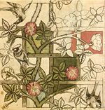 150px-William_Morris_design_for_Trellis_wallpaper_1862